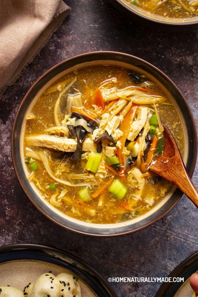 Hot and Sour Soup {Yummy Healthy Way}