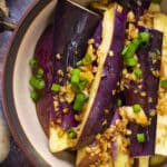 Steamed Eggplant {Chinese Huai Yang Style}
